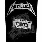 METALLICA  - PTCH NO LIFE 'TIL LEATHER (BACKPATCH)