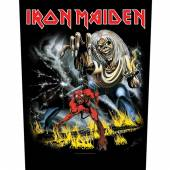 IRON MAIDEN  - PTCH NUMBER OF THE BEAST (BACKPATCH)
