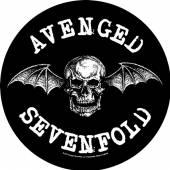 AVENGED SEVENFOLD  - PTCH DEATH BAT (BACKPATCH)