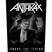ANTHRAX  - PTCH AMONG THE LIVING (BACKPATCH)