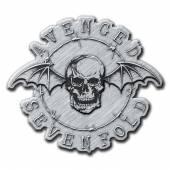 AVENGED SEVENFOLD  - BDGE DEATH BAT (METAL PIN BADGE)