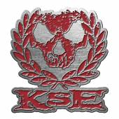 KILLSWITCH ENGAGE  - BDGE SKULL WREATH (METAL PIN BADGE)