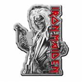 IRON MAIDEN  - BDGE KILLERS (METAL PIN BADGE)