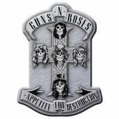 GUNS N' ROSES  - BDGE APPETITE (METAL PIN BADGE)