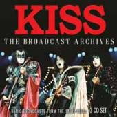 KISS  - 3xCD THE BROADCAST ARCHIVES (3CD)