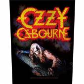 OZZY OSBOURNE  - PTCH BARK AT THE MOON (BACKPATCH)