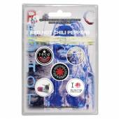 RED HOT CHILI PEPPERS  - BADGEP BY THE WAY (BUTTON BADGE SET)