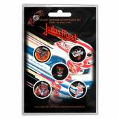JUDAS PRIEST  - BADGEP TURBO (BUTTON BADGE SET)