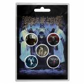 CRADLE OF FILTH  - BADGEP CRYPTORIANA (BUTTON BADGE SET)