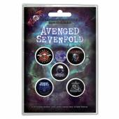 AVENGED SEVENFOLD  - BADGEP THE STAGE (BUTTON BADGE SET)