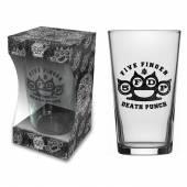 FIVE FINGER DEATH PUNCH  - PINT KNUCKLE LOGO (BEER GLASS)