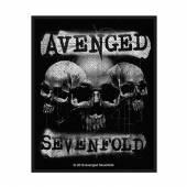 AVENGED SEVENFOLD  - PTCH 3 SKULLS (PATCH)