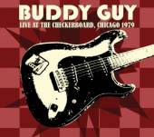 GUY BUDDY  - CD LIVE AT CHECKBOARD..