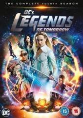 MOVIE  - DVD DC LEGENDS OF TOMORROW S4