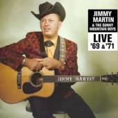 JIMMY MARTIN  - CD LIVE '69 & '71