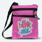 BLINK 182  - BAG LOGO PINK (BODY BAG)