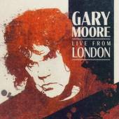 MOORE GARY  - CD LIVE FROM LONDON [DIGI]