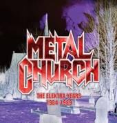 METAL CHURCH  - 3xCD THE ELEKTRA YEA..