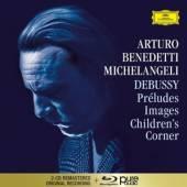 MICHELANGELI ARTURO BENEDETTI  - CD DEBUSSY (2CD + BLU-RAY)