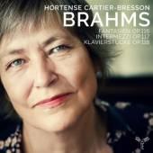 BRAHMS  - CD OP 116 117 118 CARTIER BRESSON