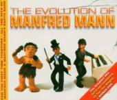 MANFRED MANN'S EARTH BAND  - 3xCD EVOLUTION OF MANFRED MANN