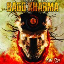 BADD KHARMA  - VINYL ON FIRE (RED/Y..