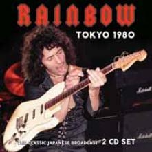 RAINBOW  - CD+DVD TOKYO 1980 (2CD)
