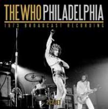 WHO  - CD+DVD PHILADELPHIA (2CD)