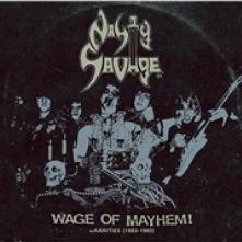 NASTY SAVAGE  - VINYL WAGE OF MAYHEM +.. [VINYL]