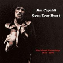 JIM CAPALDI  - 4xCD OPEN YOUR HEART..