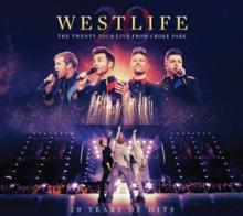 WESTLIFE  - 2xCD+DVD TWENTY TOUR..