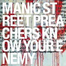 MANIC STREET PREACHERS  - CD KNOW YOUR ENEMY