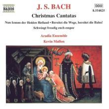 BACH JOHANN SEBASTIAN  - CD CHRISTMAS CANTATAS