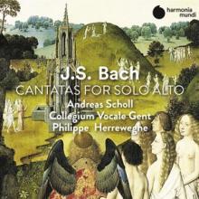PHILIPPE HERREWEGHE  - CD CANTATAS FOR ALTO VOICE
