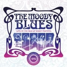MOODY BLUES  - CD LIVE AT THE ISLE OF WIGHT 1970