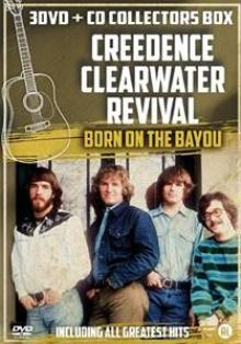 CREEDENCE CLEARWATER REVIVAL  - 4xCD+DVD BORN ON THE BAYOU