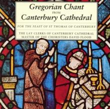 CANTERBURY CATHEDRAL CHOIR  - CD GREGORIAN CHANT FROM CANTERBURY CAT