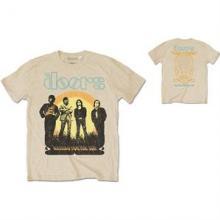 DOORS =T-SHIRT=  - TR 1968 TOUR -MEN- SAND -L-