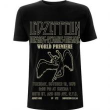 LED ZEPPELIN =T-SHIRT=  - TR TSRTS WORLD.. -L-