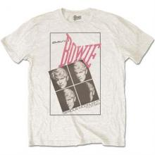 BOWIE DAVID =T-SHIRT=  - TR SERIOUS MOONLIGHT.. -L-