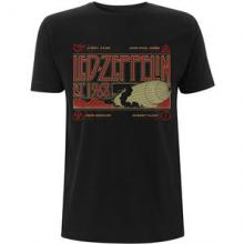 LED ZEPPELIN =T-SHIRT=  - TR ZEPPELIN & SMOKE.. -L-