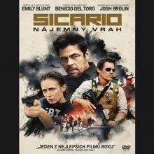 FILM  - DVD Sicario - Nájemný vrah DVD