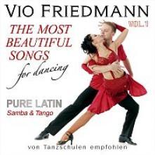 FRIEDMANN VIO  - CD PURE LATIN VOL.1 (SAMBA & TANGO) ?