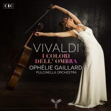 OPHELIE GAILLARD ENSEMBLE PULC..  - CD ANTONIO VIVALDII COLORI DELL OMBRA