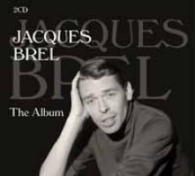 JACQUES BREL  - CD+DVD THE ALBUM (2CD)