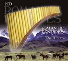 ROMANTIC PANPIPES  - CD+DVD THE ALBUM (2CD)
