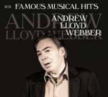 ANDREW LLOYD WEBBER  - CD+DVD FAMOUS MUSICAL HITS (2CD)
