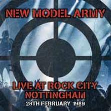 NEW MODEL ARMY  - 2xVINYL LIVE IN NOTTINGHAM 1989 [VINYL]