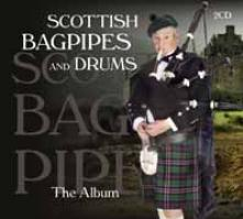 SCOTTISH BAGPIPES & DRUMS  - CD+DVD THE ALBUM (2CD)
