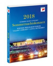 WIENER PHILHARMONIKER  - DVD SOMMERNACHTSKONZERT 2018